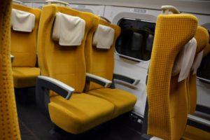 電車のシート