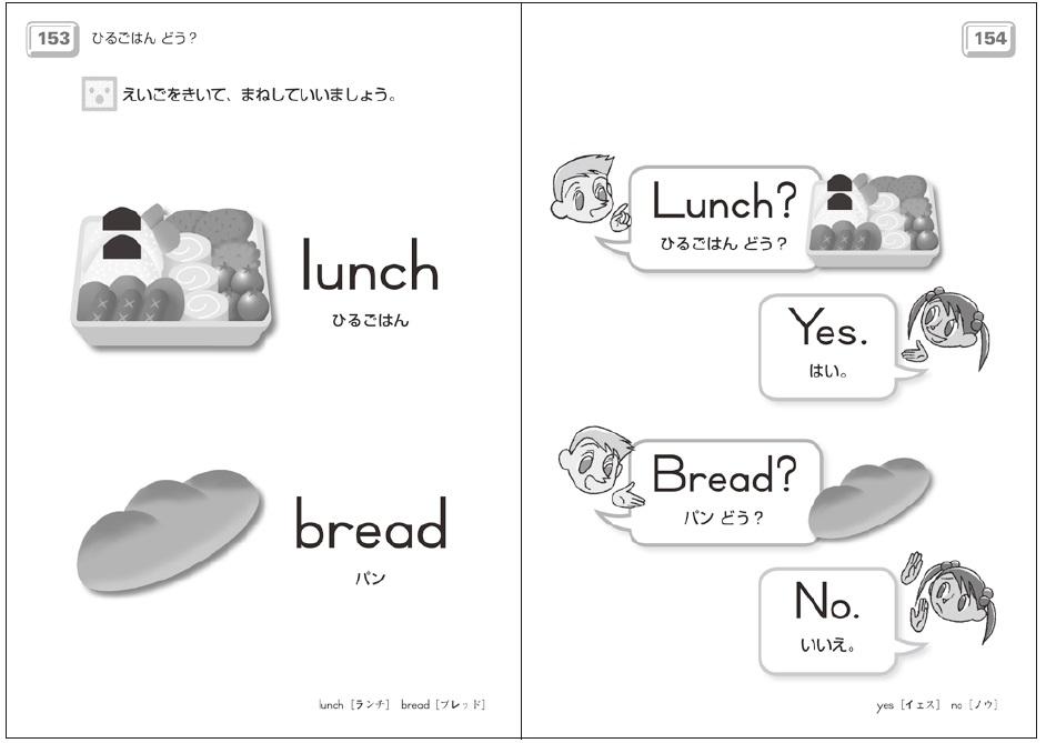 幼児公文英語身近な単語/対話文